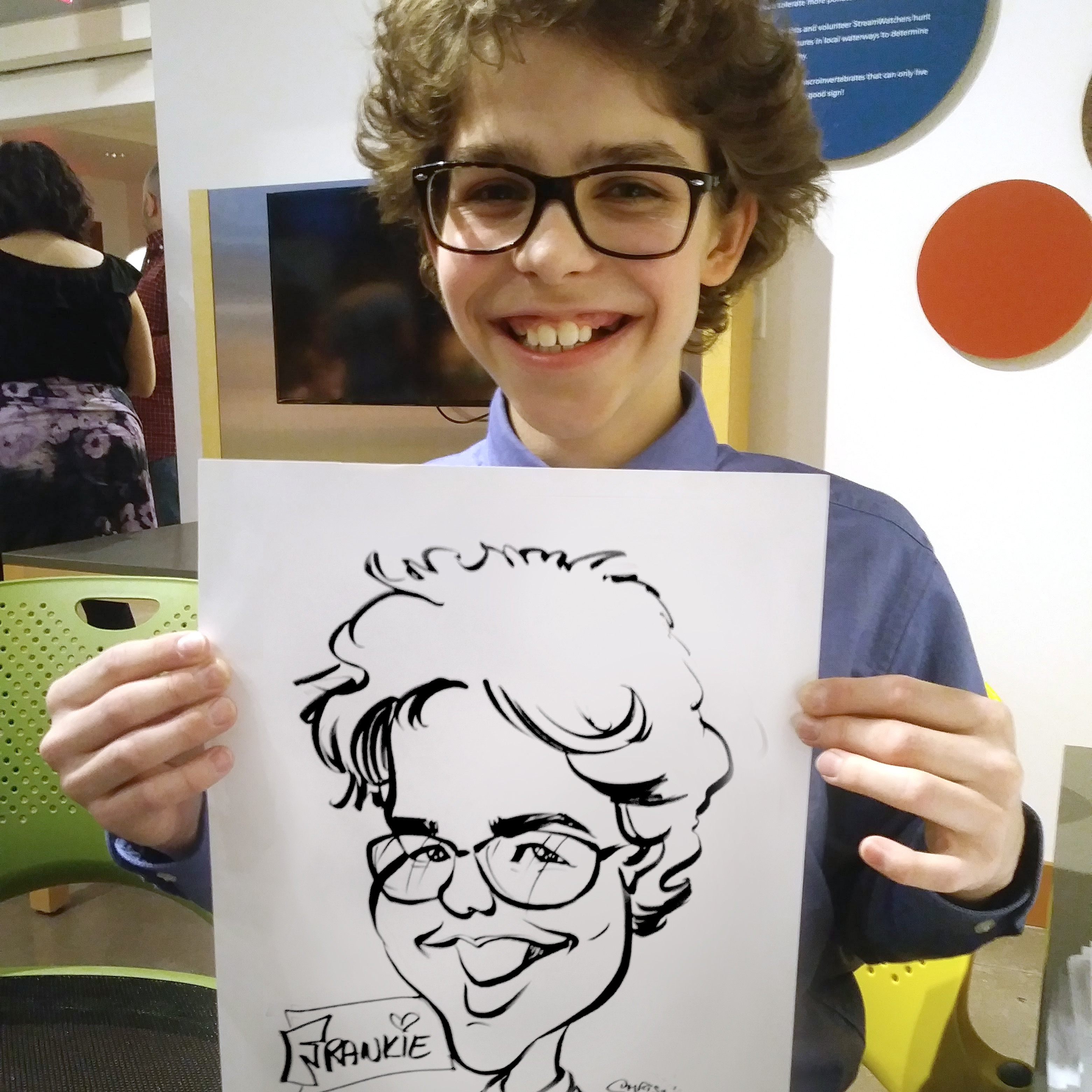 Party Caricature