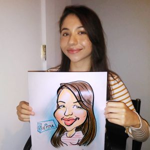 Color Caricature - Julissa